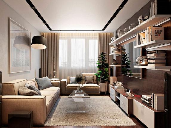 10 дизайнерских идей для небольшой квартиры