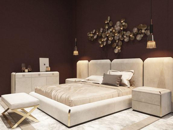 Белый тренд в оформлении спальни