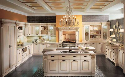 Классические кухни: уникальные черты стиля