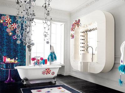 Добавь красок в интерьер ванной вместе с Alta Moda