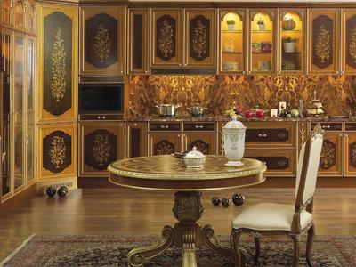 Дворцовые кухонные интерьеры от Asnaghi Interiors