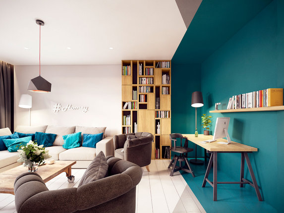 Как зрительно раздвинуть пространство гостиной (часть 1)
