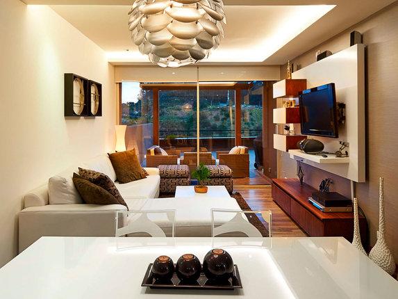 Как зрительно раздвинуть пространство гостиной (часть 2)
