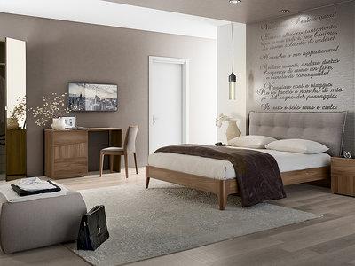 STORM: лаконичность и простота в интерьере спальни от CAMELGROUP