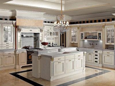 Строгая роскошь кухонь IMPERIAL от фабрики Aran