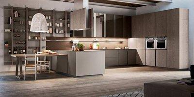 Как комфортно объединить пространство кухни и гостиной