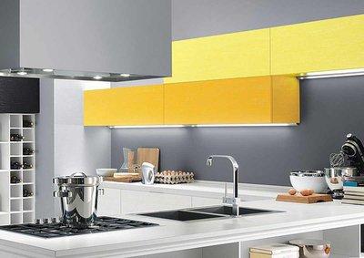 Жёлтый цвет в кухонном интерьере: достоинства и недостатки