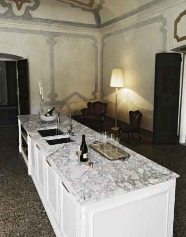 В шоу-руме: итальянская кухня Elite 02 фабрики Cesar
