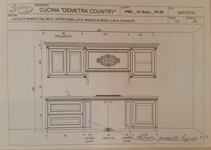 В шоу-руме: итальянская кухня DEMETRA фабрики LUBIEX