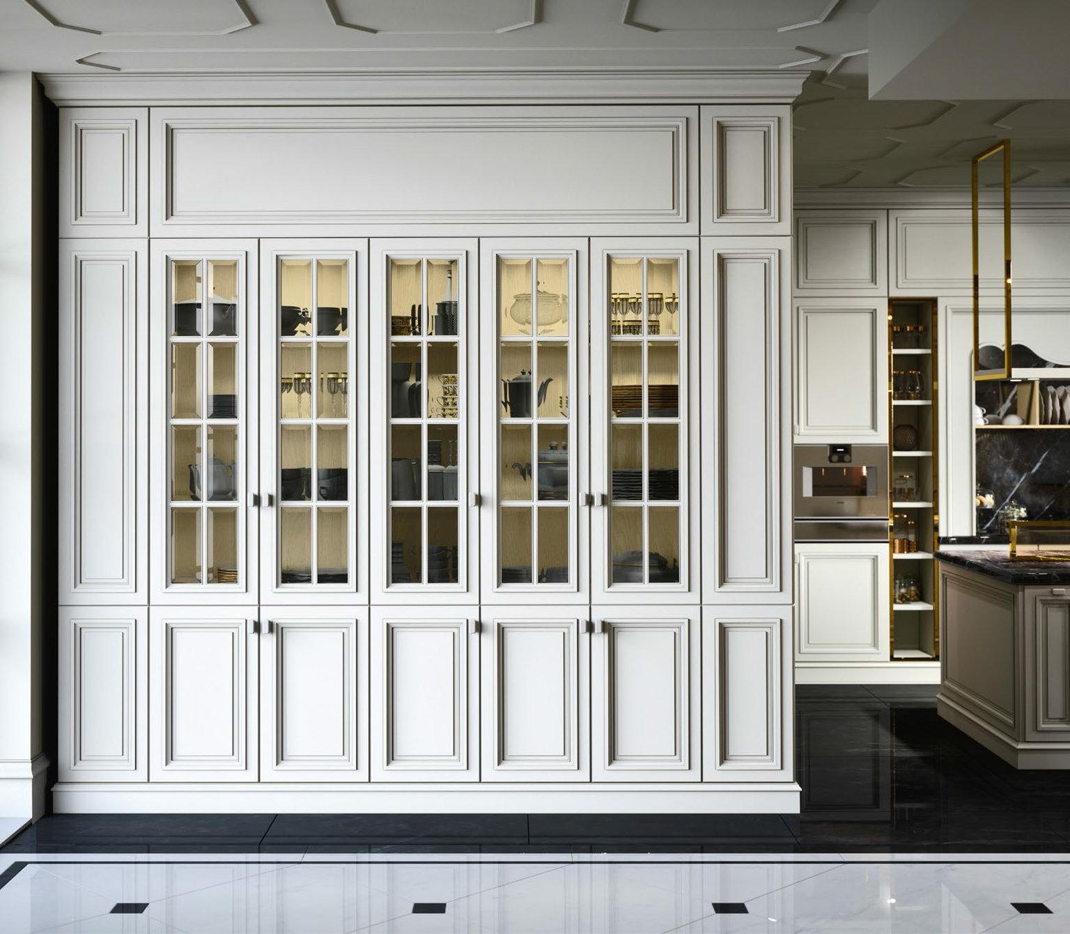 Итальянская кухня London Luxury фабрики FM BOTTEGA D\'ARTRE