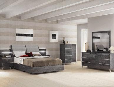 Итальянская спальня Elite Grey фабрики Status