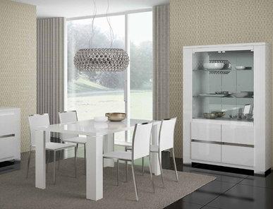 Итальянская столовая Elegance White фабрики Status