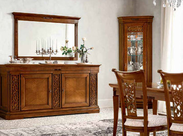 Итальянская столовая Tiffany noce фабрики Dall'Agnese