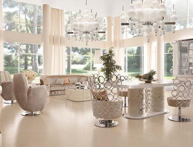 Итальянская гостиная Jaguar White фабрики Altamoda
