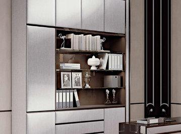 Итальянские книжные шкафы Class фабрики Rampoldi Casa
