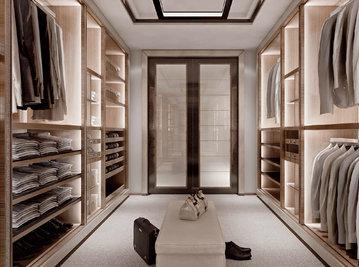 Итальянская гардеробная Class фабрики Rampoldi Casa