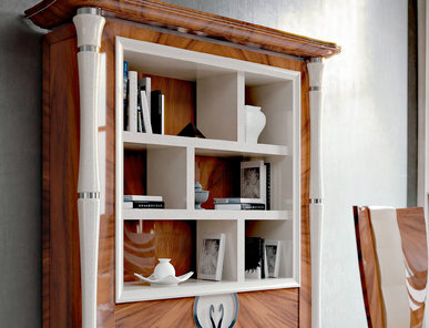 Итальянские книжные шкафы Divina фабрики Rampoldi Casa