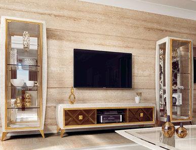 Итальянская Мебель для ТВ Lumiere фабрики Rampoldi Casa