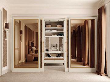 Итальянская гардеробная Lumiere фабрики Rampoldi Casa