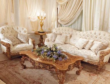 Итальянская мягкая мебель Domus Aurea фабрики RAMPOLDI CREATIONS