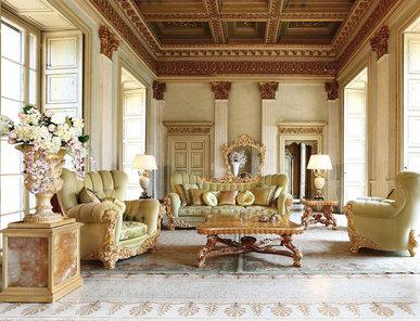 Итальянская гостиная Grand Sancy фабрики RAMPOLDI CREATIONS