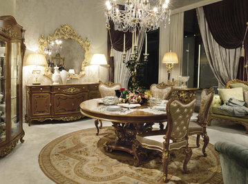 Итальянская гостиная Italian Landscape фабрики RAMPOLDI CREATIONS