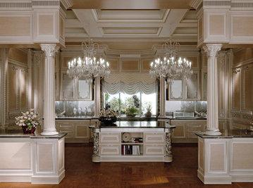 Итальянская кухня Domus Aurea фабрики RAMPOLDI CREATIONS