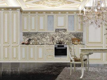 Итальянская кухня Infinity Flair фабрики RAMPOLDI CREATIONS