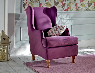 Итальянское кресло Viola Natural Home фабрики Epoque Treci Sallotti