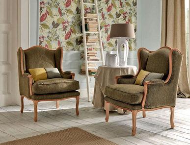 Итальянское кресло Papavero Natural Home фабрики Epoque Treci Sallotti