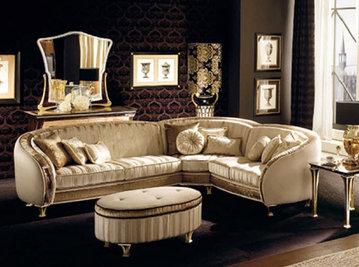 Итальянская мягкая мебель Rossini фабрики Arredo Classic