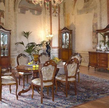 Итальянская гостиная Verdi Ciliegio фабрики Claudio Saoncella