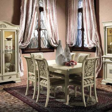 Итальянская гостиная Puccini Bianco фабрики Claudio Saoncella