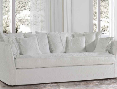 Итальянская мягкая мебель Vienna White Collection фабрики Epoque Treci Sallotti