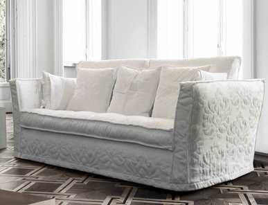 Итальянская мягкая мебель Milly White Collection фабрики Epoque Treci Sallotti