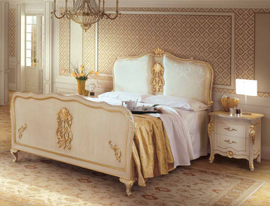 Итальянская спальня Barocco Bach фабрики Angelo Cappellini