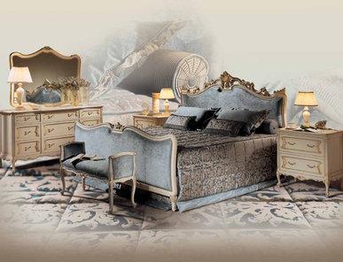 Итальянская спальня Barocco Wagner фабрики Angelo Cappellini