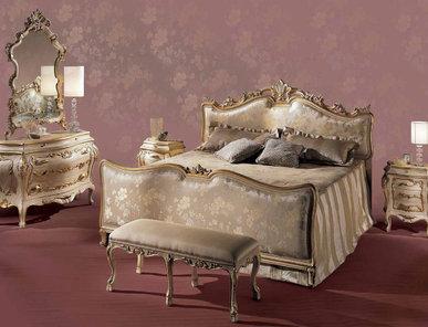 Итальянская спальня Barocco Respighi фабрики Angelo Cappellini