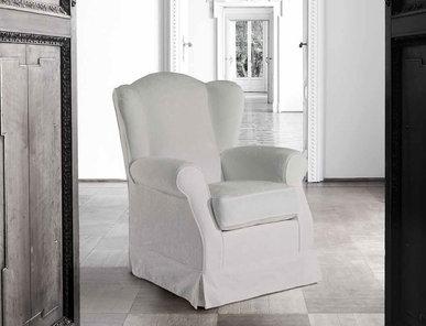 Итальянское кресло Jilles White Collection фабрики Epoque Treci Sallotti