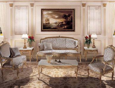 Итальянская мягкая мебель Luigi XV Campanella фабрики Angelo Cappellini