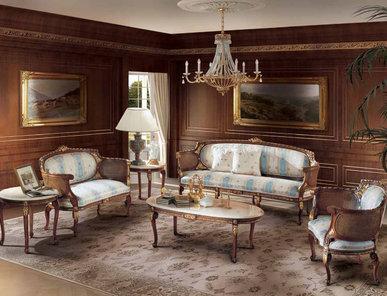 Итальянская мягкая мебель Luigi XVI Diderot фабрики Angelo Cappellini