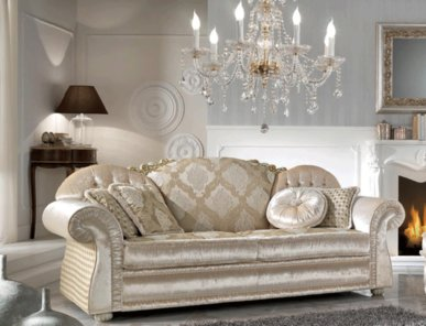Итальянская мягкая мебель Romantic фабрики Cis Salotti