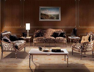 Итальянская мягкая мебель Luigi XVI Melville фабрики Angelo Cappellini