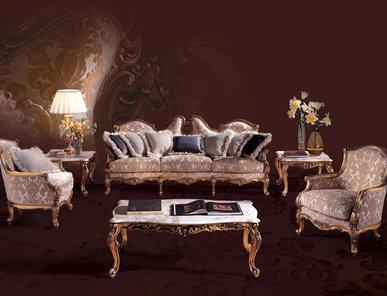 Итальянская мягкая мебель Barocco Puskin фабрики Angelo Cappellini
