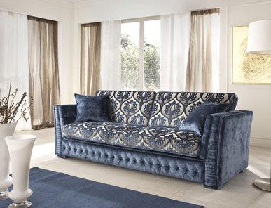 Итальянская мягкая мебель Teseo Classic Collection фабрики Cis Salotti