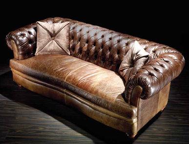 Итальянская мягкая мебель Gorky Leatherchic Collection фабрики Epoque Egon Frustenberg