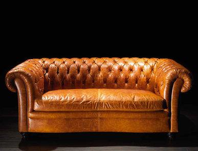 Итальянская мягкая мебель Tazio Leatherchic Collection фабрики Epoque Egon Frustenberg