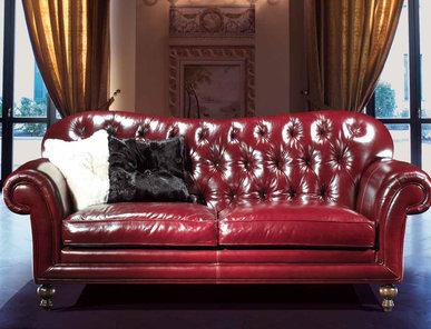 Итальянская мягкая мебель Kline Leatherchic Collection фабрики Epoque Egon Frustenberg