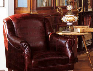 Итальянское кресло Taylor Leatherchic Collection фабрики Epoque Egon Frustenberg