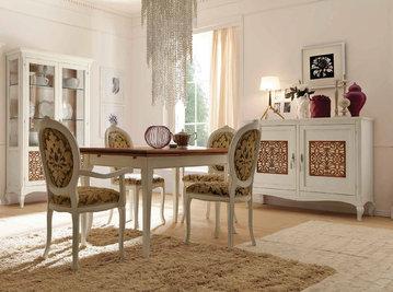 Итальянская гостиная Capri Bicolore Laccato фабрики Villanova